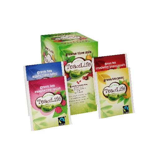Tea of Life groene thee fruitmix